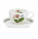 Portmeirion Exotic Botanic Garden Bird of Paradise Teacup & Saucer