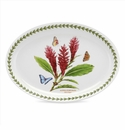 Portmeirion Exotic Botanic Garden Red Ginger Oval Platter 11""