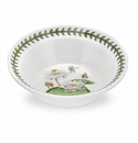 Portmeirion Exotic Botanic Garden White Water Lily Oatmeal Bowl 6.5""