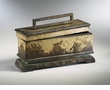 Primitive Distressed Wood Box by Cyan Design