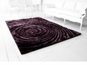 Purple Polyester Hand Tufted Rug by Cyan Design