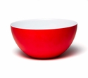 Q Squared Madison Bloom 6.5 Red & White Bowl