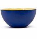 Q Squared Montecito Blue 12 Blue & Yellow Bowl