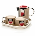 Radius Coffee or Tea Service for Two by Hues and Brews