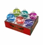 Radko Shiny Bright Confections 6Ct Flocked Ornament Set