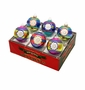 Radko Shiny Bright Confections 6Ct Reflectors Ornament Set