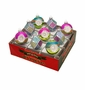 Radko Shiny Bright Confections 9Ct Multi-Faceted Ornament Set