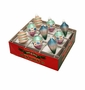Radko Shiny Bright Winter 9Ct Mixed Ornament Set