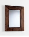 Ralston Square Wood Wall Mirror by Cyan Design