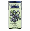 Republic of Tea Blueberry Green Tea Bags 50 Ct.