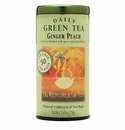 Republic of Tea Ginger Peach Green Tea Bag Tin 50 Ct
