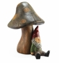 Resting Gnome with Bluetooth Speaker Sculpture by SPI Home