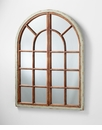 Richmond Arch Wood Wall Mirror by Cyan Design