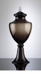 Rio Cocoa Glass Urn Vase by Cyan Design