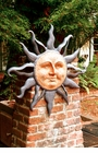 Rising Sun Wall Plaque by SPI Home