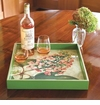Rock Flower Paper Serving Trays