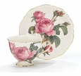 Romantic Rose Tea Cup & Saucer Set