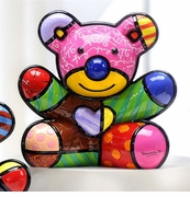 Romero Britto Fun Bear 2nd Edition Polyresin Figurine