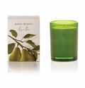 Rosy Rings Botanica Glass Candle Anjou Pear