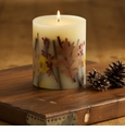 Rosy Rings Botanical Candles