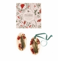 Rosy Rings Red Currant & Cranberry Oval Wax Sachet