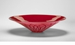 Rouge Red Art Glass Bowl by Cyan Design