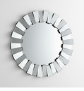Round Concerto Sunburst Mirror by Cyan Design