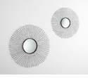 Roxie Iron Decorative Wall Mirror 2 by Cyan Design