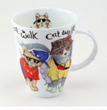 Roy Kirkham Animal Fashion Cat (Louise) Mug