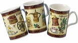 Roy Kirkham Coffee Mugs - Set of 3