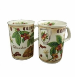 Roy Kirkham Coffee Time Lancaster Mugs (Set of 2)