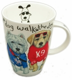 Roy Kirkham Dog Fashion (Louise) English Bone China Mug