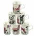 Roy Kirkham Dogs Galore Bone China Mugs - Set of 6