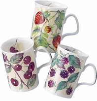 Roy Kirkham English Fine Bone China Mugs