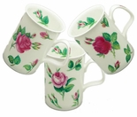 Roy Kirkham Malmaison (Lancaster) Bone China Mugs - Set of 3