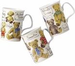 Roy Kirkham My Favourite Teddies English Bone China Mug Set of Three