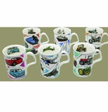 Roy Kirkham Nostalgia (Lancaster) Bone China Mugs (6)