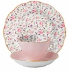 Royal Albert 3-Piece Set (Teacup, Saucer & Plate) Rose Confetti