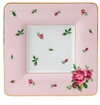 Royal Albert Square Trinket Tray New Country Roses Pink
