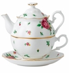 Royal Albert Tea For One New Country Roses White