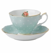 Royal Albert Teacup & Saucer Set Polka Rose