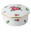 Royal Albert Trinket Box New Country Roses White
