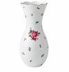 Royal Albert Vase Large New Country Roses White