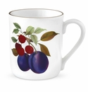 Royal Worcester Evesham Gold 12 Ounce Plum & Cherry Mug