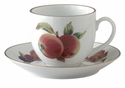 Royal Worcester Evesham Gold Cup and Saucer Set