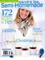 Sandra Lee Semi-Homemade Magazine - January 2010
