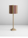 Santa Cruz Polyresin Lamp with Multicolored Shade by Cyan Design