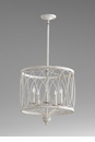Sausalito White Pendant Light by Cyan Design