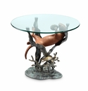 Sea Otter End Table by SPI Home