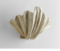 Shelly Plaster Shell Wall Sconce by Cyan Design